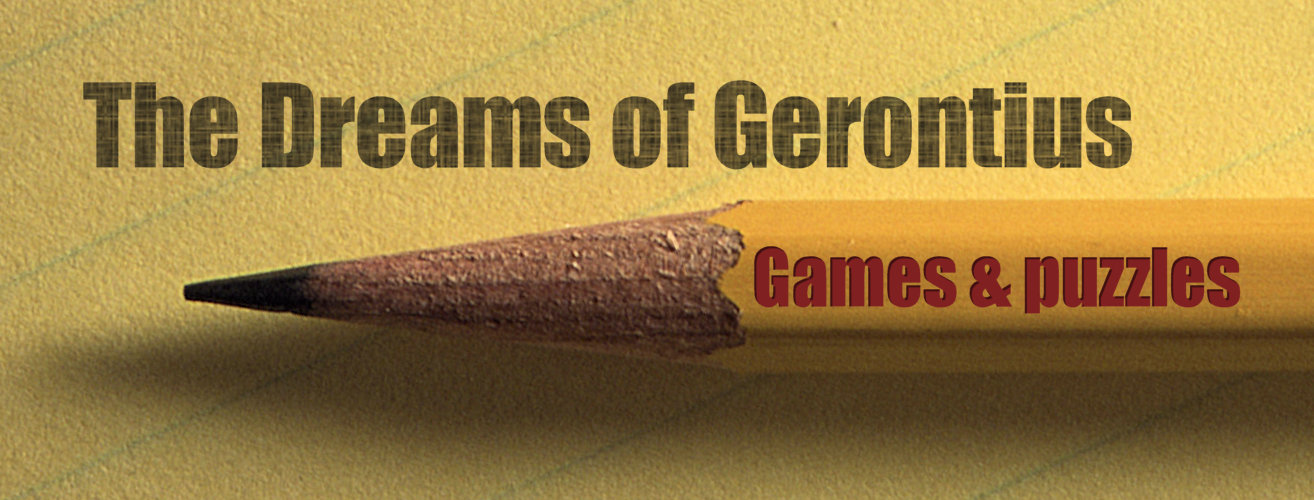 Dreams of Gerontius Games and Puzzles