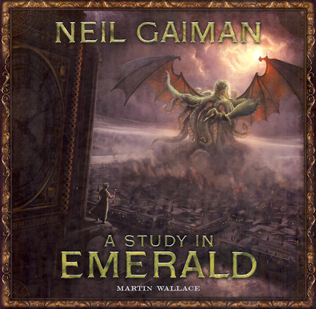 Study in Emerald game box