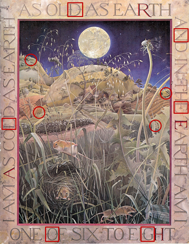 Kit Williams The Dreams Of Gerontius