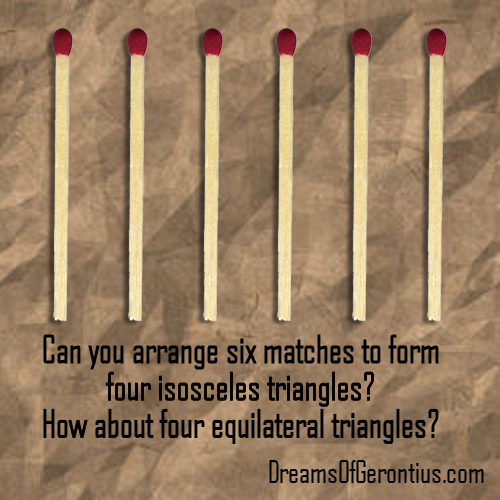 matches riddle
